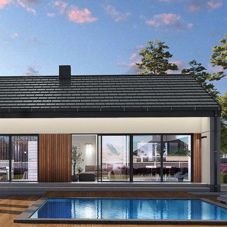 Nowy dom parterowy pod klucz 100m2 w Koszalinie (na sprzedaż)