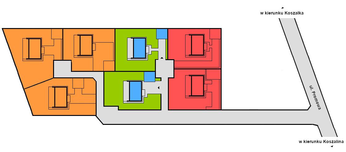 Mapa Osiedla Promowa
